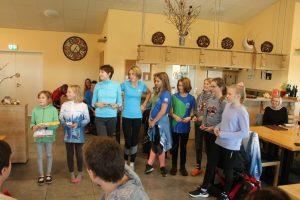 Unsere jüngsten Teilnehmer in der Alterklasse 12, ladies first....